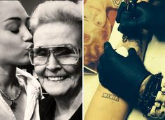 """Miley Cyrus sure loves her grandma! The """"Wrecking Ball"""" songbird adores her """"Mammie"""" (aka Loretta Finley) so much that she had her face tattooed onto her right forearm on Tuesday afternoon. Naturally, Miley kept fans looped in on her latest … Continue reading →"""