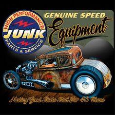 Genuine Speed Equipment Junk Parts and Service Rat Rod Speed Shop