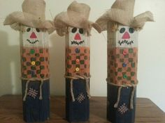 snowmen made out of scrap wood on pinterest - Google Search