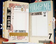 TERESA COLLINS DESIGN TEAM: Altered Book - June thankful journal - Days 6-10.......by julie jacob