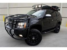 Custom 07 Chevy Tahoe Black Lifted 2005 Trucks Accessorieodification Image Gallery