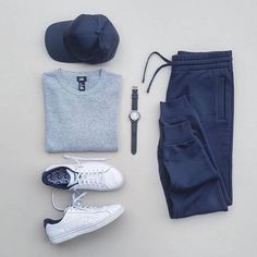 3 Cool & Comfortable Weekend Outfits — The Hottest Fashion Newsletter Ever is part of Mens fashion casual outfits - Athleisure Mens Fashion Blog, Fashion Mode, Mens Fashion Suits, Popular Mens Fashion, Fashion Hats, Fashion Outfits, Stylish Mens Outfits, Casual Outfits, Men Casual
