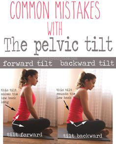 Pin it! Watch the tilt of your pelvis in seated positions  Wearing: FP pants, Sweaty Betty top
