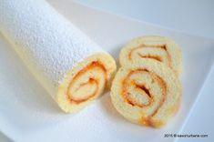 Rulada cu gem sau crema - reteta de rulada pufoasa din pandispan | Savori Urbane