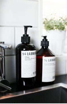 Stylish kitchen soaps