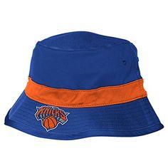 pretty nice 2bf5c add0e NBA New York Knicks Men s Team Nation Bucket Hat, Blue, Large X-Large