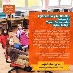 Eğitimde En İyiler Ödülleri Kurumsal Kategori 3: Yaşam Becerileri ve Kişisel Gelişim Montessori