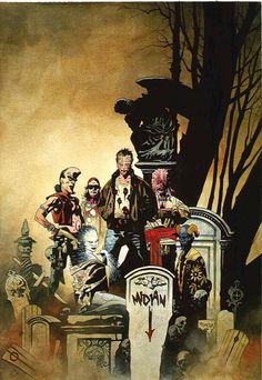 Clive Barker's Nightbreed, by Mike Mignola