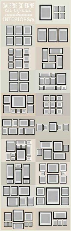Formas de colocar cuadros