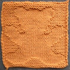 Knitted Teddy Bear Dishcloth Pattern : 1000+ images about Knit blanket and squares on Pinterest ...
