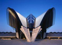 diseo urbano moderna escultores entrevista arquitectos famosa santiago calatrava increble lyon