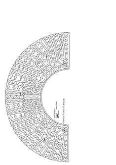 Regalo de REYES 2018 . Conjunto del abanico de Papa Noel EL REGALO DE PAPA NOEL 2017 PUNTILLAS ESTRECHAS ... Lacemaking, Lace Heart, Lace Jewelry, Lace Collar, Bobbin Lace, Crochet Lace, Diy Clothes, Lace Detail, Makeup Art