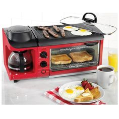 Retro 3 In 1 Breakfast Station Maker