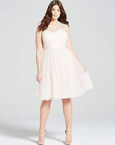 Little Mistress Nude Sheer Prom Dress