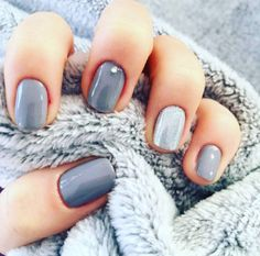 Greyscale Nail Art Is The Latest In Minimalist Beauty For 2017