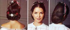 theater snood | Women's Millinery Snood Bonnet Pattern Simplicity 5740 OOP