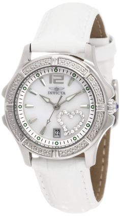 #Invicta #Watch , Invicta Women's 1029 Mother-Of-Pearl Dial with Interchangeable Leather Straps Watch