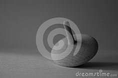 Whirling top, wood, abstract composition