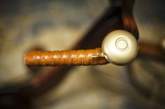 Hand bell of the Picnic Bike magsant.com #handmade #oldbike #craftmen #magsant #leatherbike #organicwool #picnicbike #oldleathertrunk