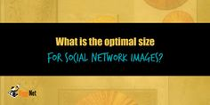 What is the optimal size for social network images?