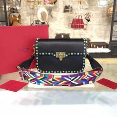 7abe326757 Valentino - Rockstud Rolling Bag 😍😍😍 #bags #bag #style #purses #fashion  #fashionista #shopping #accessories #handbags #shoes #trend #ootd  #newcollection ...