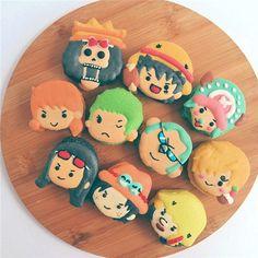 One Piece 海贼王 macaron