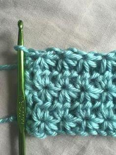 How to Crochet Star Stitch: Crochet Star Stitch Free Pattern