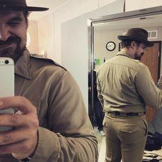 David Harbour Selfie (Chief Jim Hopper, Stranger Things)