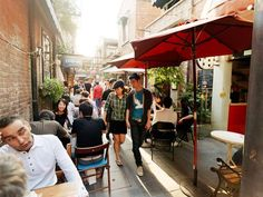 Taikang Road, Shanghai - much the same today as when it was first developed in the 1920s. A recent influx of world-renowned painters, artists, and fashion designers to the area has sparked the opening of new shops and cafes.