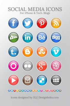 An ultimate collection of more than free social media icon sets for your websites. This post contains many categories of free social icons. Social Media Icons, Social Media Tips, Signature Ideas, Icon Design, Web Design, Online Labels, Email Signatures, Icon Set, Design Elements