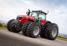 The Massey Ferguson DNA clearly runs through the MF 6600 range, with the same familiar, contemporary styling and a presence that makes every Massey Ferguson tractor stand out from the crowd. Description from blog.agcocorp.com. I searched for this on bing.com/images