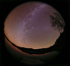 Zodiacal Light and Milky Way