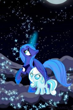 mlp snowdrop and luna - Google Search