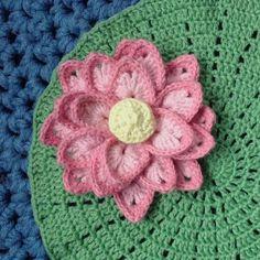 Crochet For Children: Lotus Flower - Free Pattern