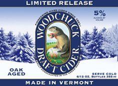Woodchuck Cider - Limited Release - Winter Brew.    Mmmmm. We ♥ Woodchuck!