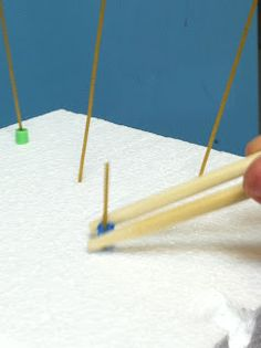 Developing Minds Through Occupational Therapy: Spaghetti for fine motor and motor control