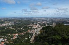 The Western Stronghold: the Wall of Sintra Fortress Grand Canyon, Westerns, Dolores Park, Architecture, Wall, Nature, Travel, Arquitetura, Naturaleza