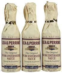 The Best Worcestershire Sauce~ never substitute!!!