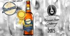 Cerveja Especial Blumenau Capivara IPA - Medalha de Ouro - Cervejas Artesanais de Santa Catarina