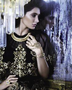 Nargis Fakhri by Jamie Nelson for Vogue India November 2012
