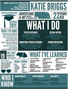 Katie Briggs' Resume #resume #design #inspiration