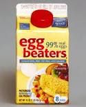 Egg Beaters = No calorie worries & yummy! Gret for using in recipes as well.