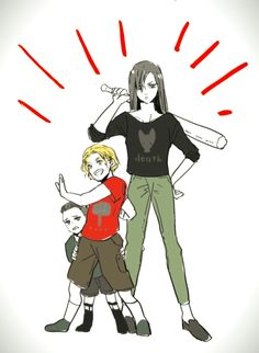 Sis Hela, Thor & Loki || Cr: tokage86