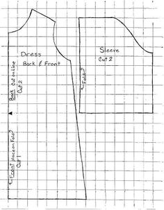 12 to 13 Inch Baby Doll Dress Pattern - Doll Making