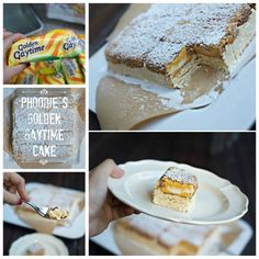 Phoodies Golden Gaytime Cake broke the Internet and now you can make this easy and delicious dessert with only 3 ingredients. Watch the video now.