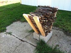 Stockage du bois : Découvrez des tas d'idées pour stocker efficacement le bois…