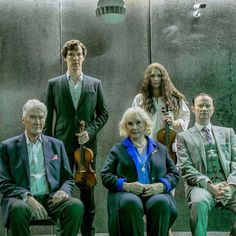 Sherlock and his family Each child just get messier and messier in appearance