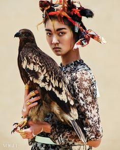 Vogue Korea Editorial August 2014 - So Young Kang by Young Jun Kim. Vogue Korea, Fashion Art, Editorial Fashion, Vogue Editorial, Tribal Fashion, Style Fashion, Wild At Heart, 3d Foto, Portrait Photography