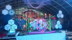 #stringart #psychedelic #deco #uv