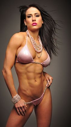 BUSTY, RIPPED ATHLETIC BIKINI BODY of Chiquita Frey, sexy #Fitness model : Health, Crossfit & Female #Bodybuilding - the best #Inspirational & #Motivational Pins by: http://cagecult.com/mma